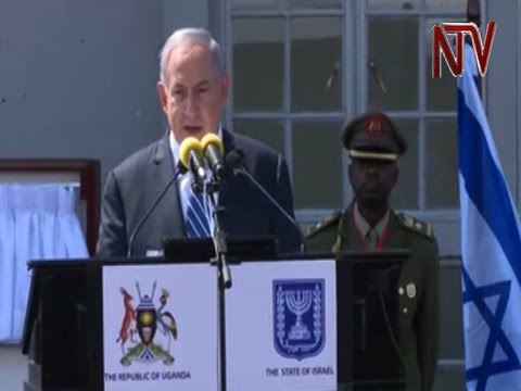 Benjamin Netanyahu gives speech at Entebbe on 40th Anniversary of Entebbe raid