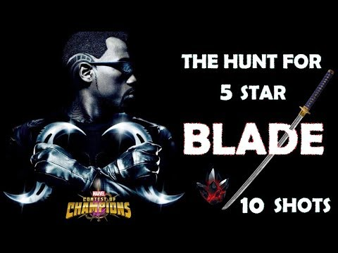 10 x 5 star Blade insane crystal opening - Marvel Contest of Champions