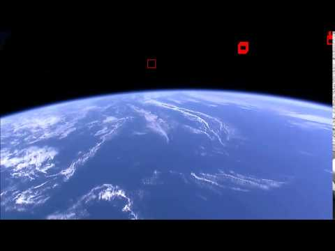 ISS HDEV over South Atlantic Anomaly