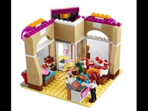 Lego Friends La Pasteleria Del Centro Juguetes Lego Para Ninos