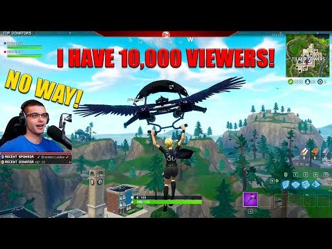This kid CRIES after we win and then raid his stream! (10,00