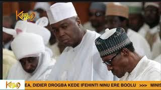 Leaked Audio Reveals Saraki True Feelings About President Muhammadu Buhari