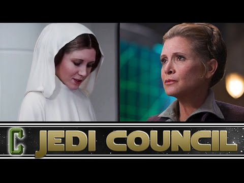 Will A CG Leia Be Used In Future Star Wars Movies? - Collider Jedi Council