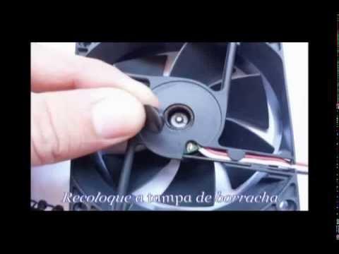 ec7db408cc2 GERADOR EOLICO Caseiro Usando um cooler