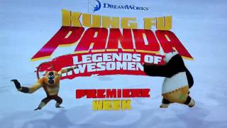 Brand New Kung Fu Panda Legends of Awesomeness UK Promo 2