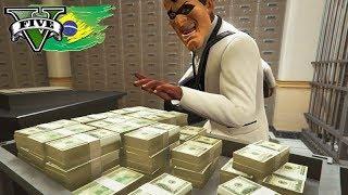 GTA V: BRASIL RP - ROUBO DE $2,000,000 no BANCO CENTRAL!!! #113