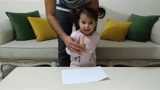 Ebrar a sürpriz görünmez kalem aldık | for kids video | oyuncu bebe TV