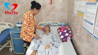 Mai Nhất Huynh nhập viện trở lại, cùng lúc em sinh đôi cũng phẩu thuật người mẹ buồn tủi bật khóc