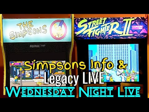 Street Fighter 2, Hardest Setting | Simpsons discussion, Arcade1up from Turbo Joe