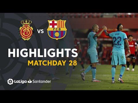 Highlights RCD Mallorca vs FC Barcelona (0-4)