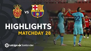 Highlights RCD Mallorca vs FC Barcelona 0 4
