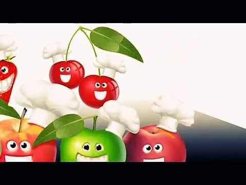 İngilizce Meyveler - Fruits Names For Kids  -  İngilizce Dersleri