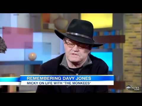 Davy Jones Dead  Fellow Monkees  Bandmember Micky Dolenz Remembers Jones in   GMA  Interview - YouTube c8927da29eb4