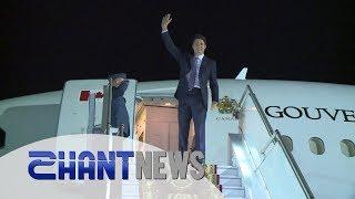 Կանադայի վարչապետը ժամանեց Հայաստան