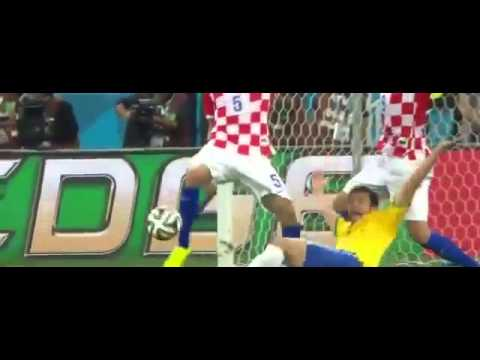 Fred Funny Penalty   Brazil vs Croatia 3 1 Brasil World Cup 2014 12 06 2014