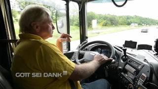 Mini-Reportage über LKW-Fahrer | Vorurteile überwunden | #GottseiDank
