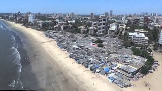 JUHU HELICOPTER VIEW