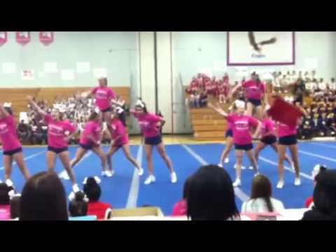 Eastchester JV Cheerleaders 2012
