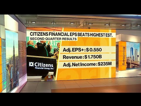 Citizens Financial CEO Doesn't See a Straight Line Recovery