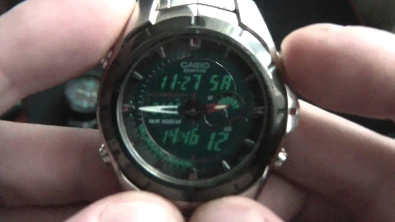 casio efa 119 4 years old youtube rh youtube com Reloj Fossil reloj casio edifice efa 119 manual español