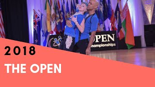 Jesse Dickson & Lannie Sullivan - The Open 2018