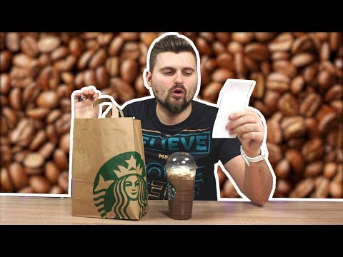 Самый дорогой и самый дешевый кофе / Что можно купить на 1000 рублей в StarBucks