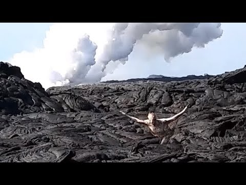 Unexplained Reptilian Alien Planet Inferno: Lava Dragons, Magma Swimmers & Other ET Creatures