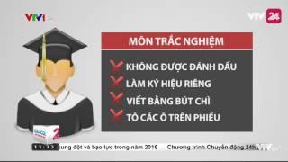 Thi THPT Quốc Gia - Những Điều Thí Sinh Cần Đặc Biệt Lưu Ý - Tin Tức  VTV24