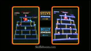 Billy Mitchell vs. Steve Wiebe: DONKEY KONG [Skiffleboom.com]
