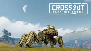 A tank on legs..  - Boris plays Crossout
