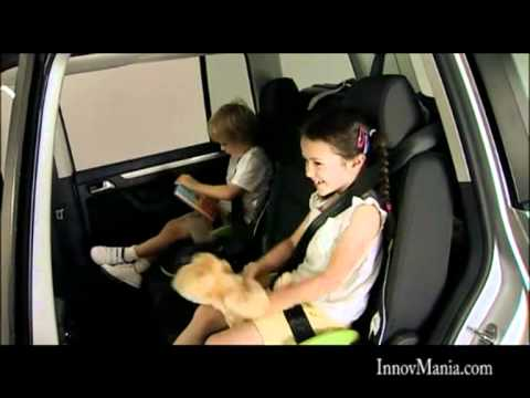 si ge rehausseur enfant voiture sac dos youtube. Black Bedroom Furniture Sets. Home Design Ideas