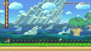 【Super Mario Maker】クリア率0.01%(15/360000)…