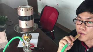 How to use H legend 4 hookah bowl ?