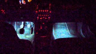 Двухрежимная подсветка/VW Jetta Mk6/dual mode footlight