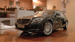 1:18 Mercedes-Benz S Class Unboxing