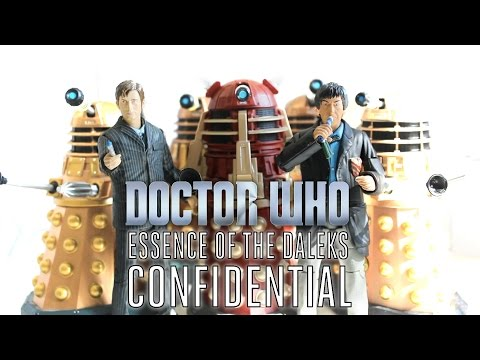 Doctor Who Figure Adventures: Essence of the Daleks - Confidential/Q&A
