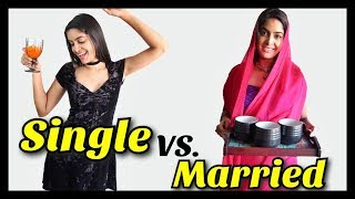 Single VS Married | Rickshawali