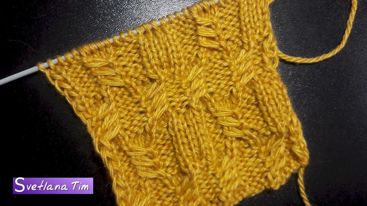 Вязания спицами узоры чешуйка