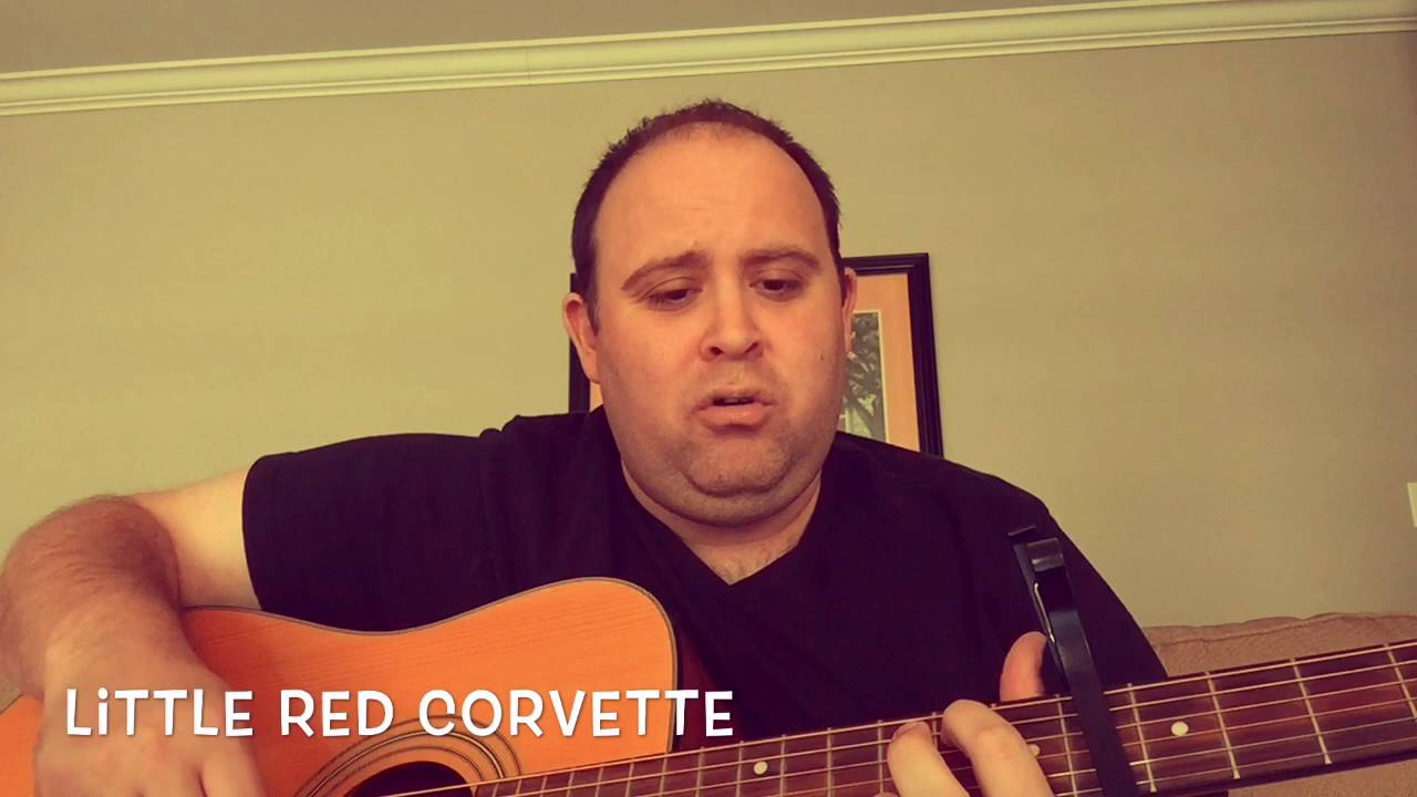 Little Red Corvette Prince Acoustic Cover Youtube