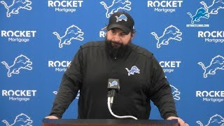 Matt Patricia on recent roster moves Video
