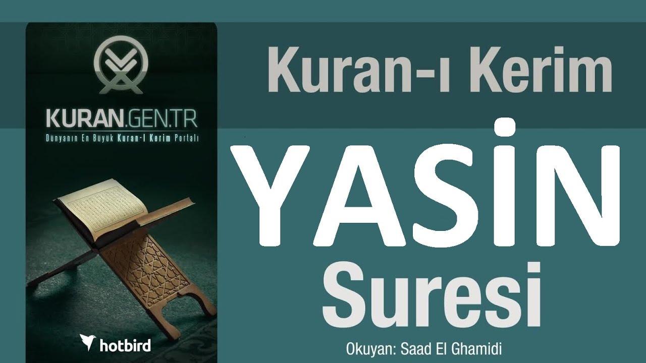 Yasin suresi. Diyanet meali Yasin arapça Kuran türkçe meal ...
