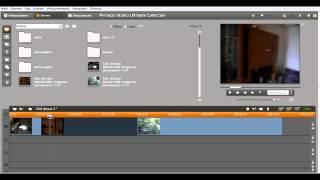 Pinnacle Studio урок №1  простой видеомонтаж