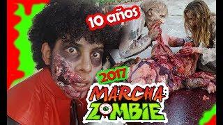 Michael Jackson thriller / FlashMob /Marcha zombie / CDMX
