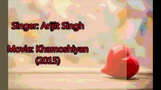 Download lagu Baatein Ye Kabhi Na Lyrics with English Translation Khamoshiyan Arijit Singh MP3