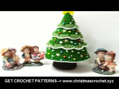 easy crochet patterns crochet christmas tree stockings