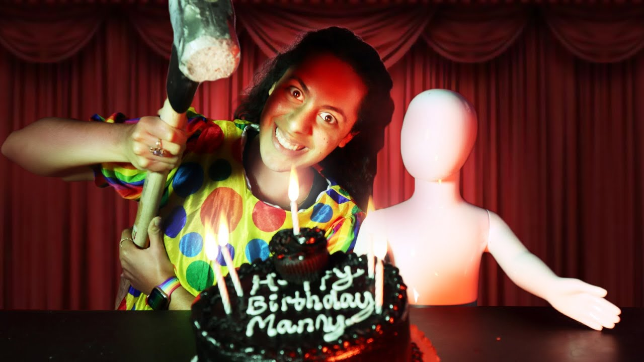 World's Scariest Birthday Party! (Creepy Mannequin Series)