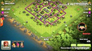 Clash of clans- rumo ao rei bárbaro. NV 10