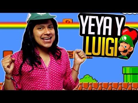 YEYA Juega Mario Bros - Luisito Rey ♛