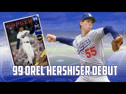 99 OREL HERSHISER DEBUT!!  MLB The Show 17 Ranked Seasons