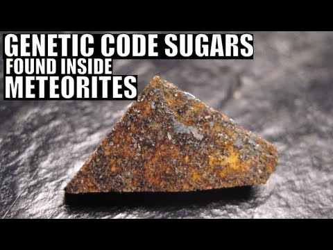 Genetic Code Sugars Such As Ribose Found Inside Meteorites